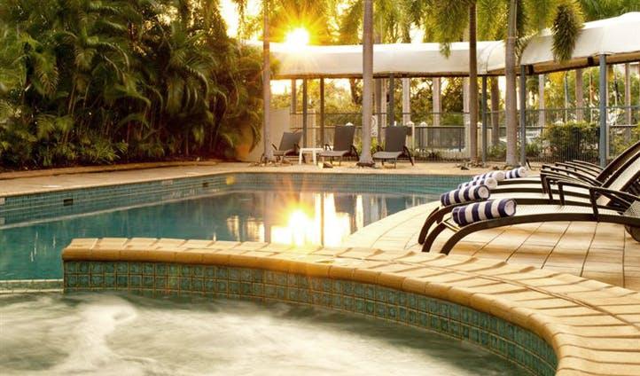 The pool at Mantra on the esplanade, australia