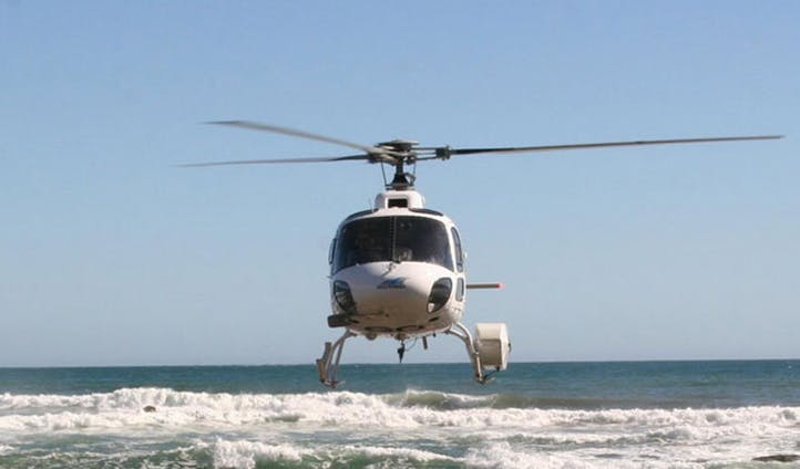 Helisurfing in New Zealand