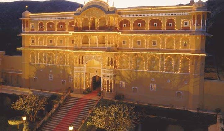 samode palace outside