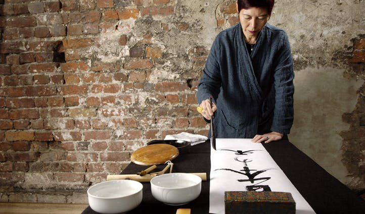 Calligraphy - get expert tuition on the ancient budou arts