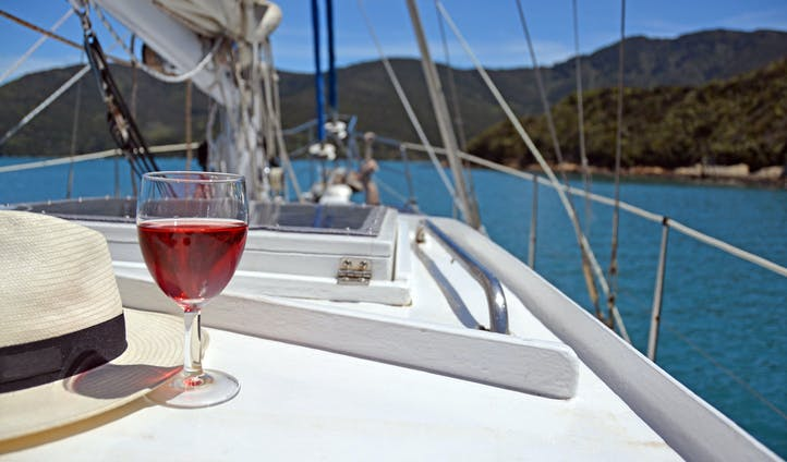 A day on a yacht in New Zealand