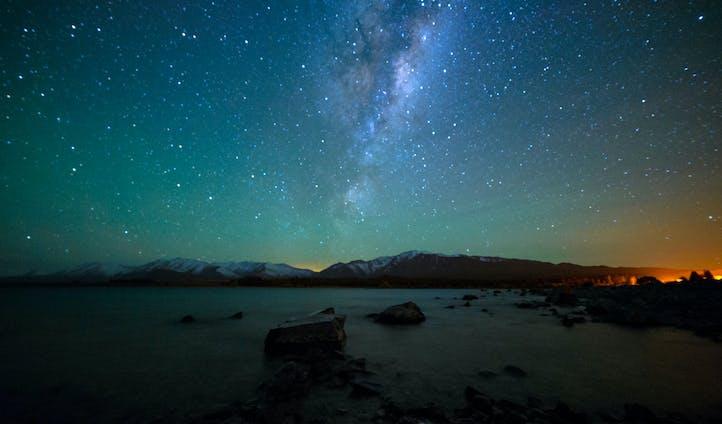Star gaze in New Zealand