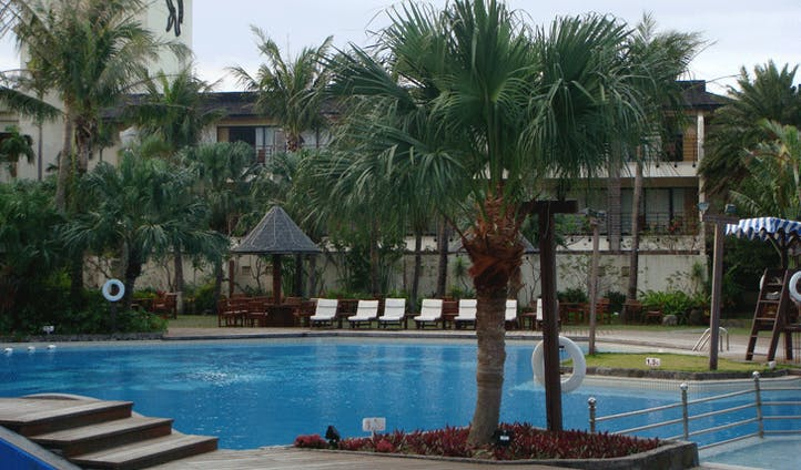 Caesar Parks pool