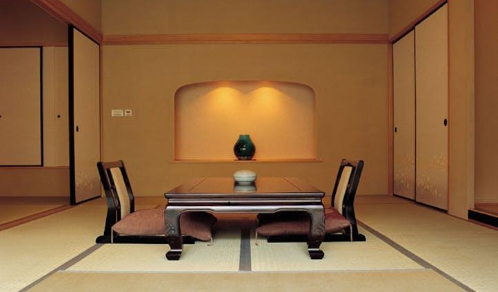 the japanese style villa