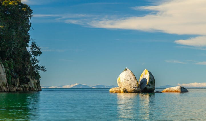 Explore the calm waters of Abel Tasman National Park