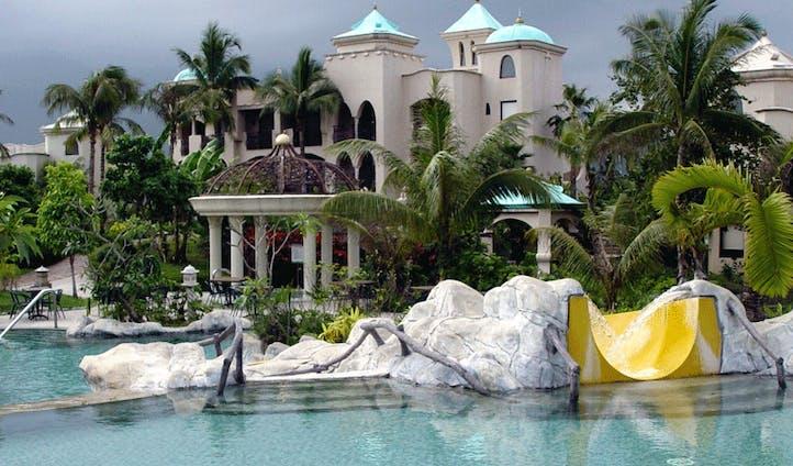 Promised land swimming pool