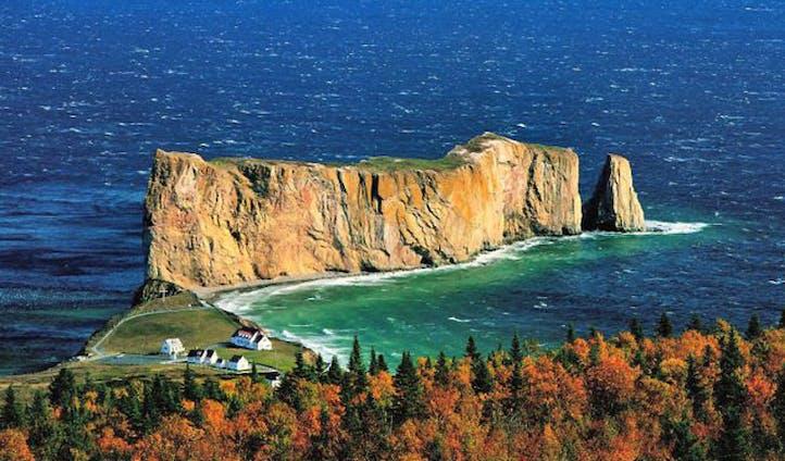 Awe at the stunning views of Quebec