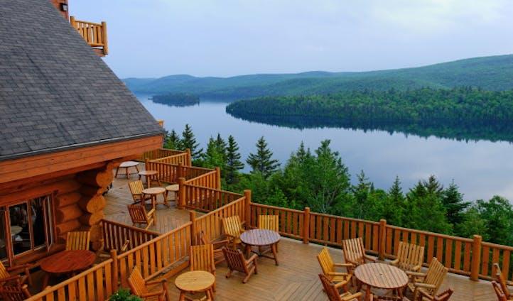 Hotal Sacacomie terrace | Good hotel views