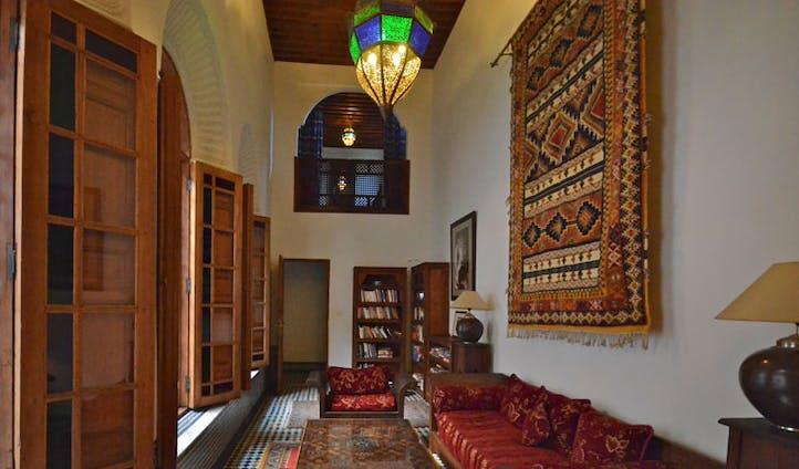 Library, Dar Roumana, Morocco