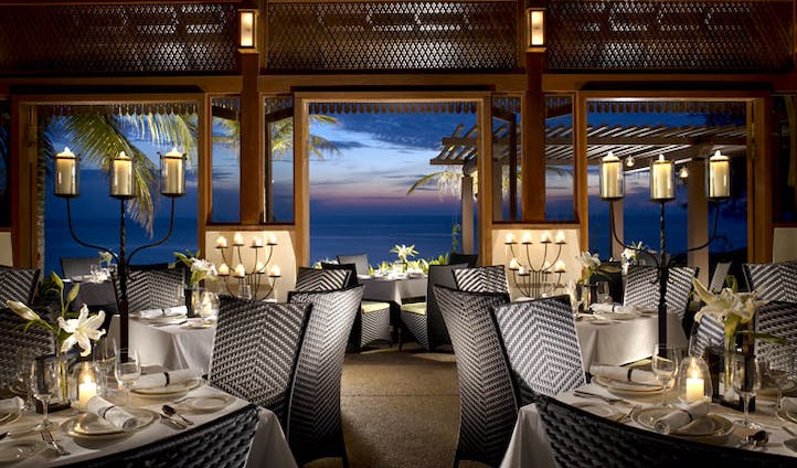 Dine in pure luxury