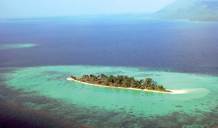 Kura Kura's private island, Indonesia