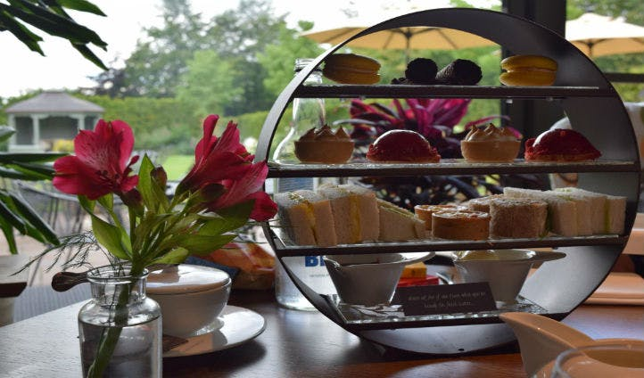 Enjoy afternoon tea at Dormy House Hotel