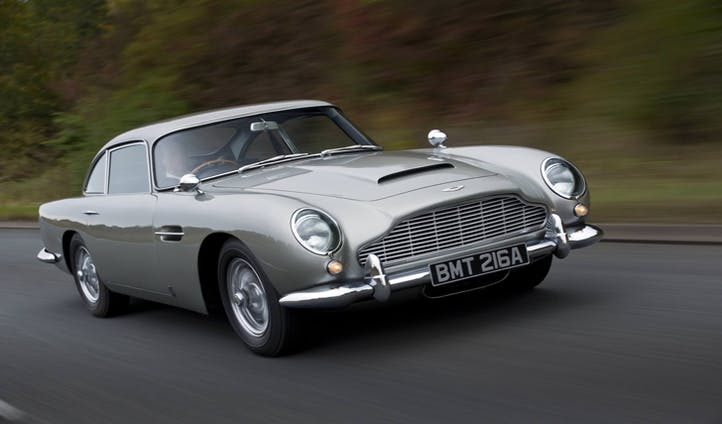 Journey in your classic Aston Martin