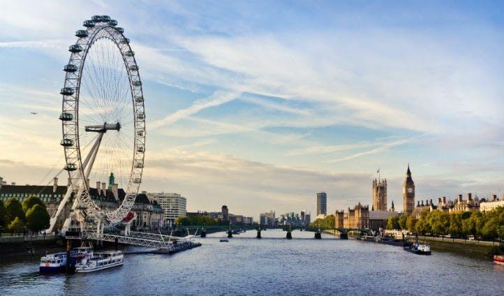 Views across London