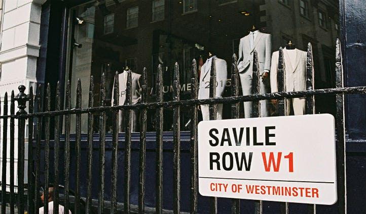 Take a stroll down Savile Row