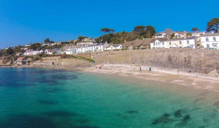 The pretty fishing village of St Mawes