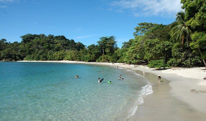 beach in the Manuel Antonia National Parque