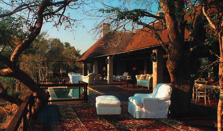 Your terrace at Royal Malewane, South Africa