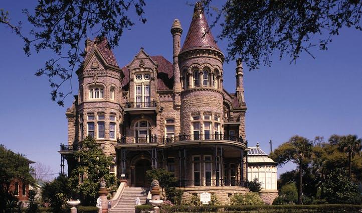 the bishop's palace, galveston
