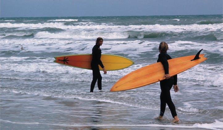 surfers at corpus christi
