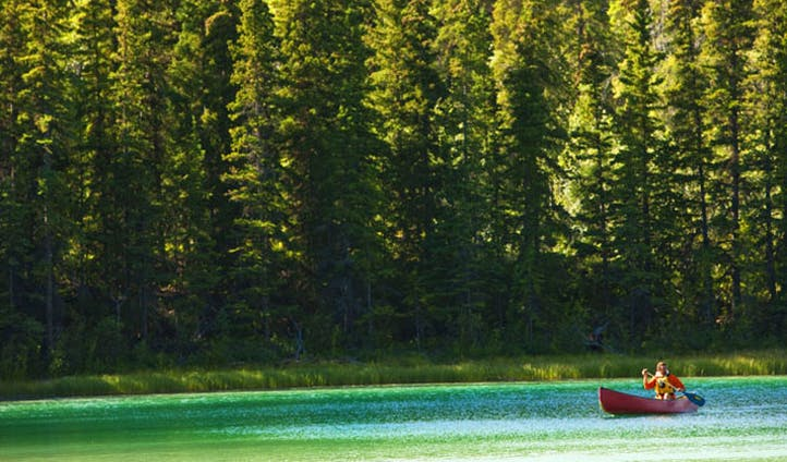 Explore the great lakes of The Yukon