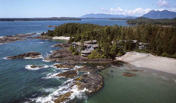 Take in the spectacular views at The Wickaninnish Inn