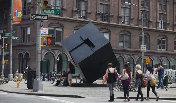 Spot NYC's contemporary art