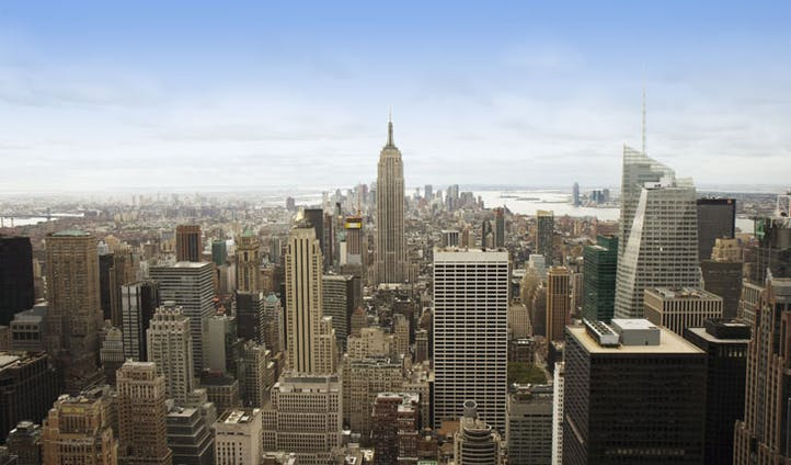 A view across New York
