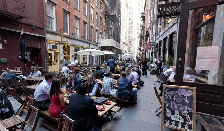 Grab some munch on this historic street