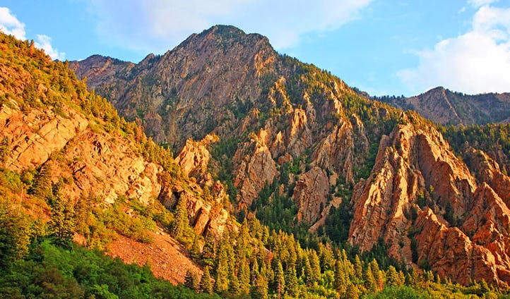 The colourful mountains of Utah