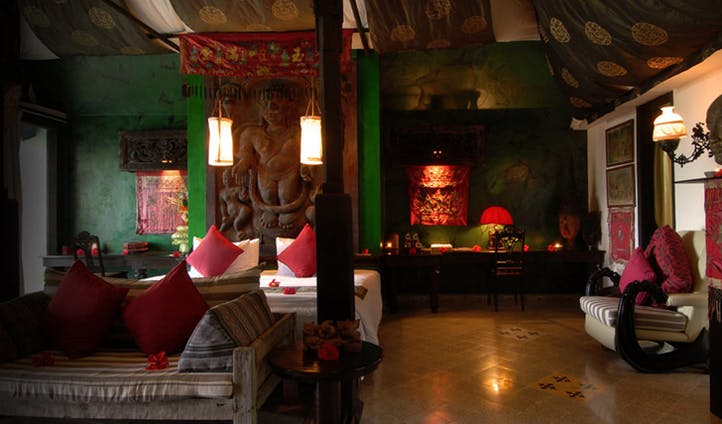 The boutique suite at Tugu