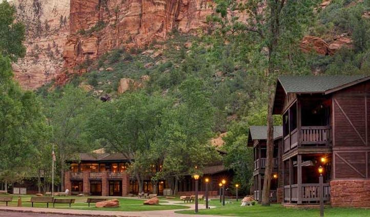 Zion Lodge, Utah