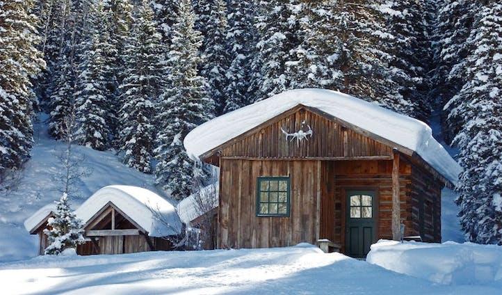 Winter Wonderland at Dunton Hot Springs