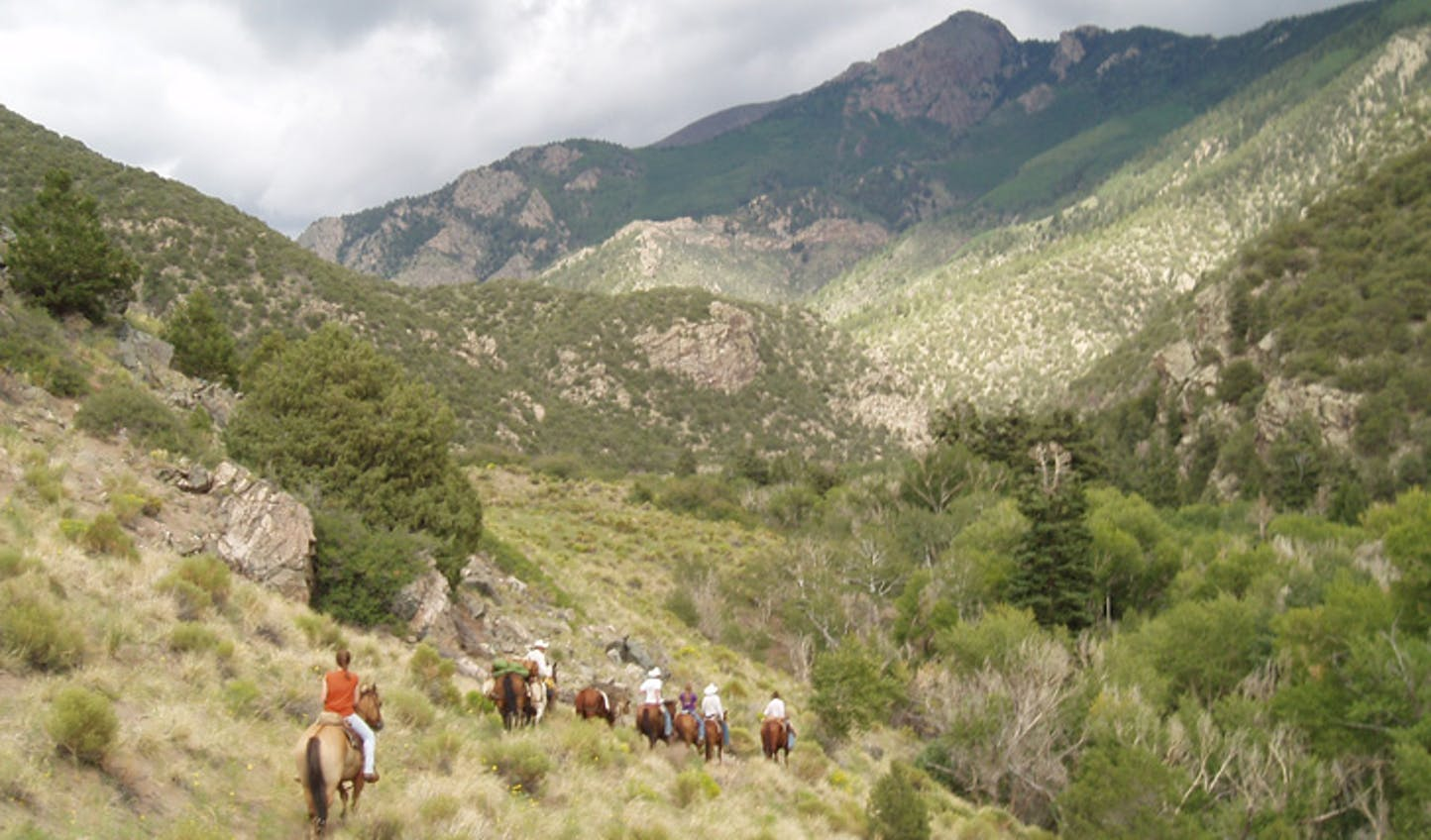 For epic wilderness trails head to Zapata Ranch