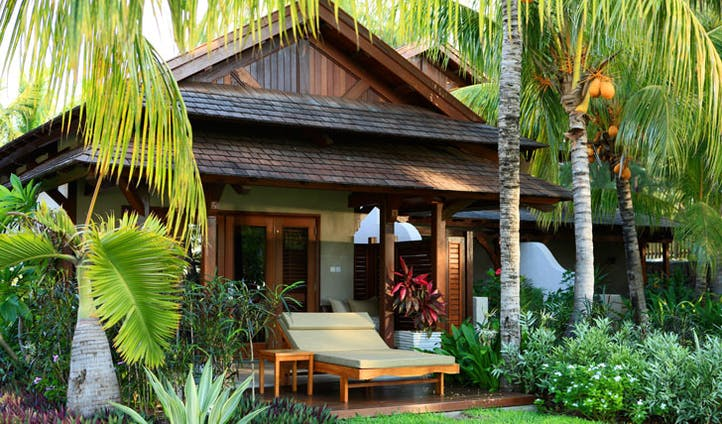 The secluded guestrooms