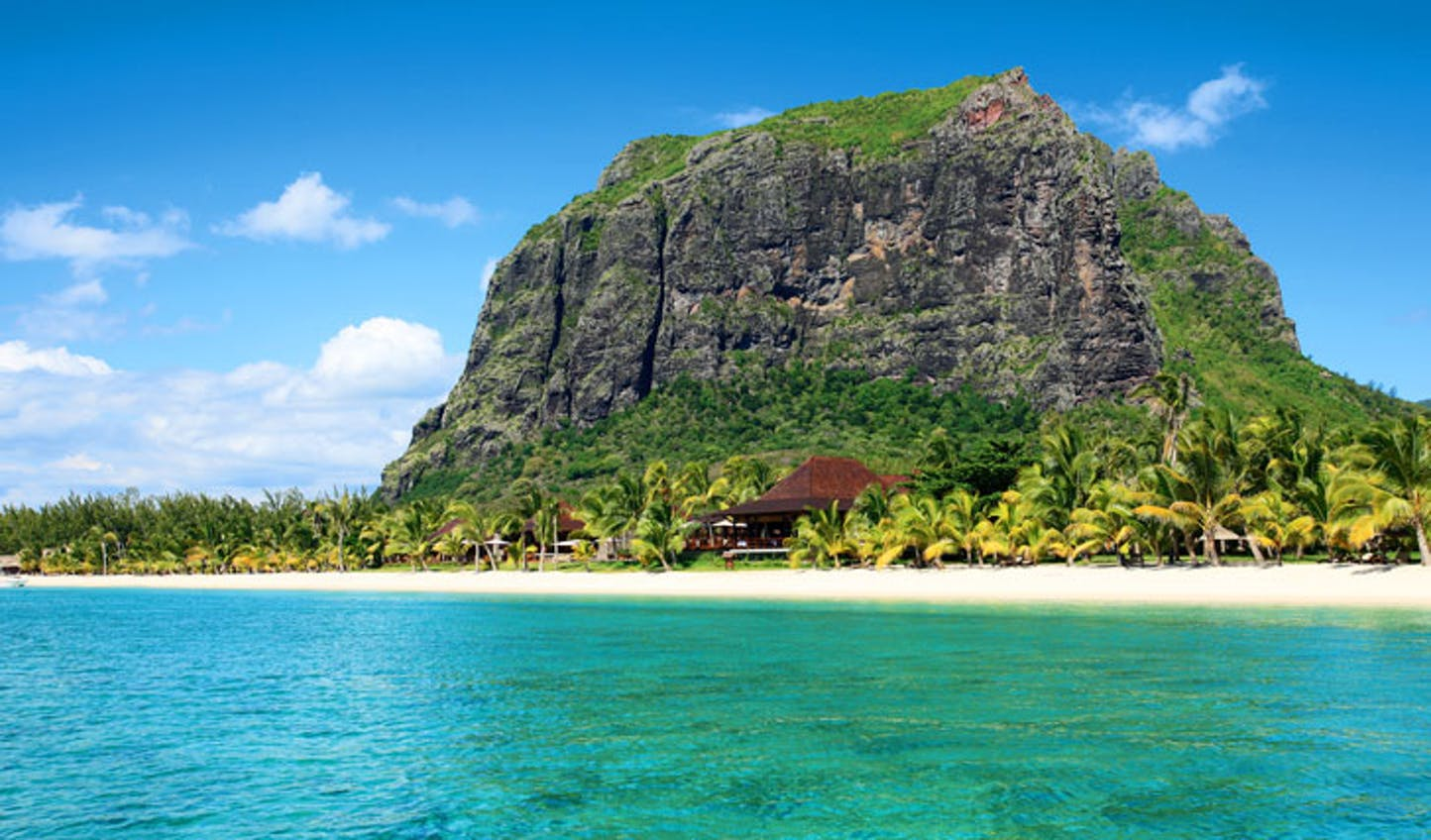 The blissful island of Mauritius