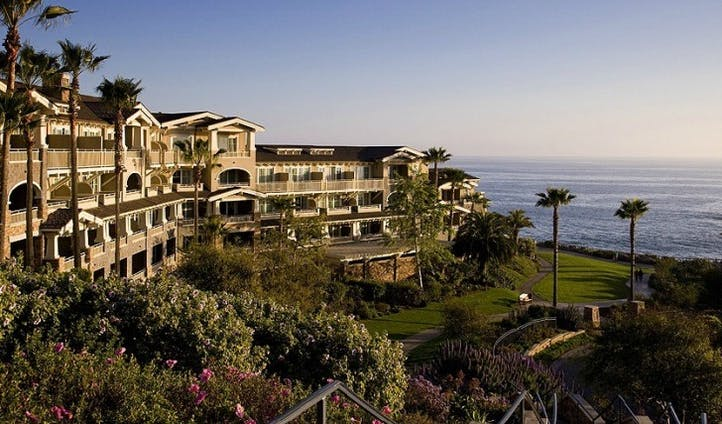 Views over the sea from the Montage Laguna Beach