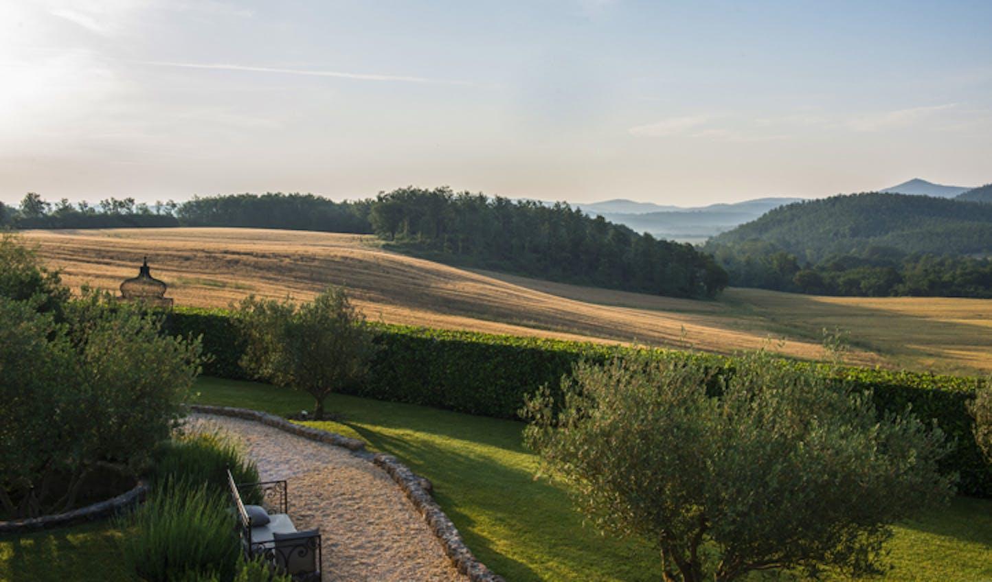 Rolling Tuscan hills