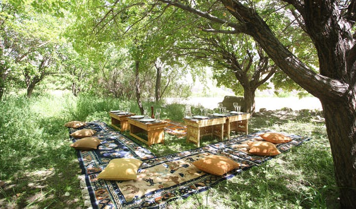 picnic spot in Ladakh, nothern India