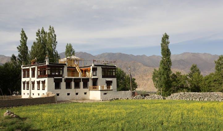 village houses, shakti ladakh