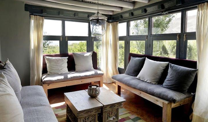 Shakti Ladakh living room