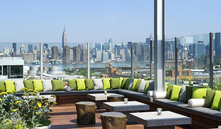 Views over Manhattan from Brooklyn