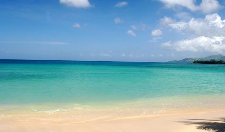 Beach bliss in Grenada