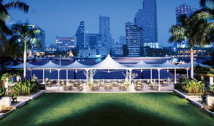 Lawn Dining at The Peninsula Hotel