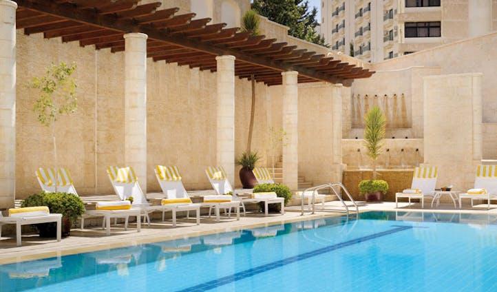 Take a refreshing dip at the Mövenpick Resort Petra