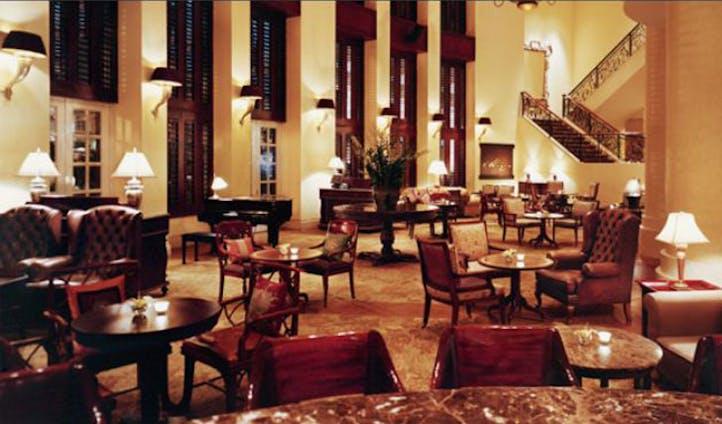 Lounge at the Park Hyatt