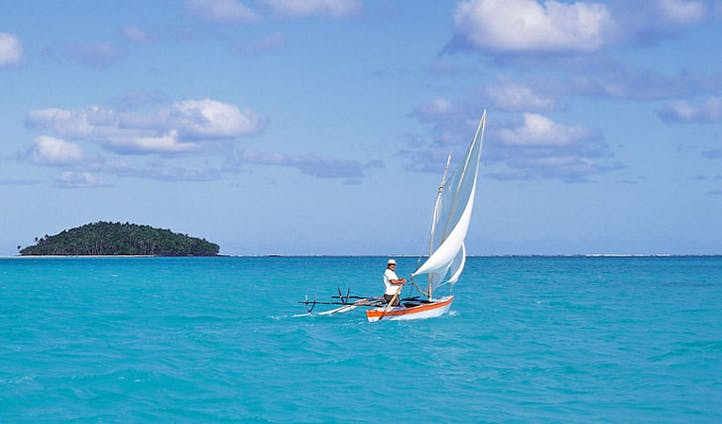 Dive into the clear blue waters of the Cook Islands