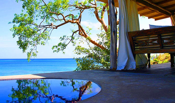 Enjoy lazy days at the Laluna hotel, Grenada