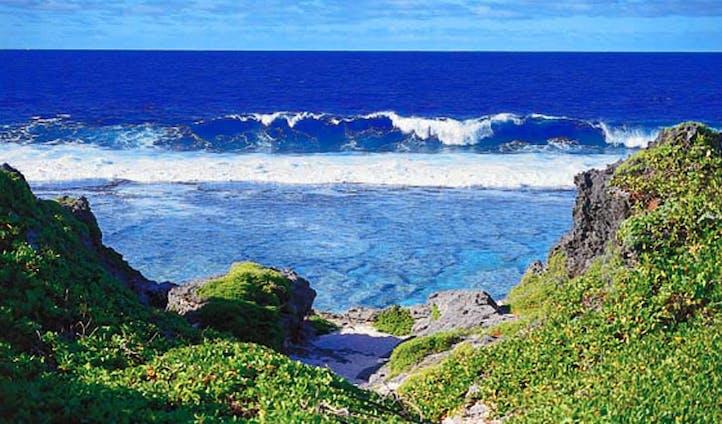 Explore the rugged scenery of Aitutaki