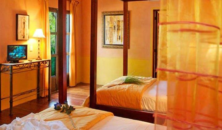Bedroom at La Hacienda